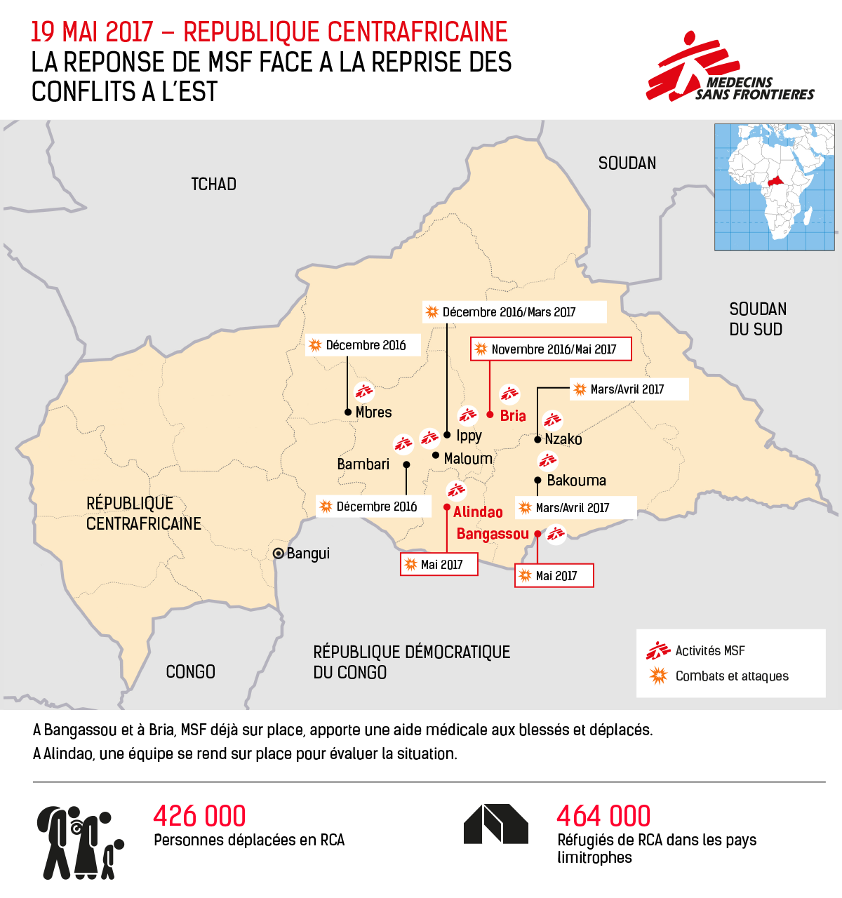 Violence In Central African Republic Latest Updates And The MSF Response
