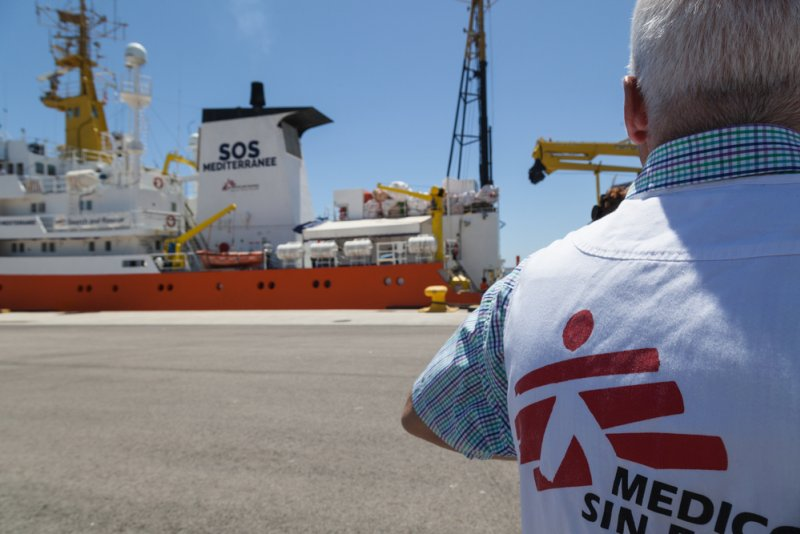 An image preview for MSF search and rescue ship Aquarius returns to the Central Mediterranean: Humanitarian assistance at sea desperately needed article.