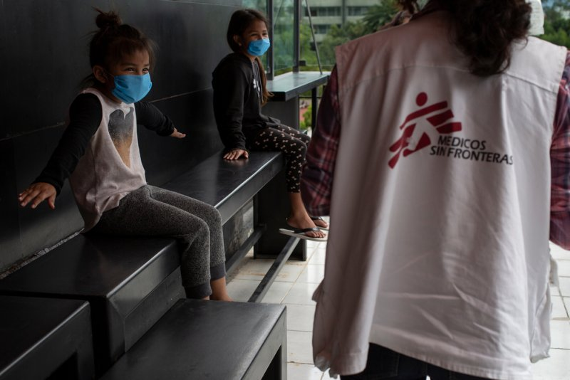 An image preview for Mexico: MSF supports migrants and homeless people at risk of COVID-19  article.