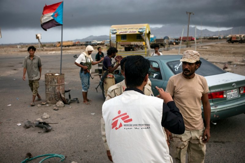 An image preview for Does staying neutral and impartial help MSF save lives? article.