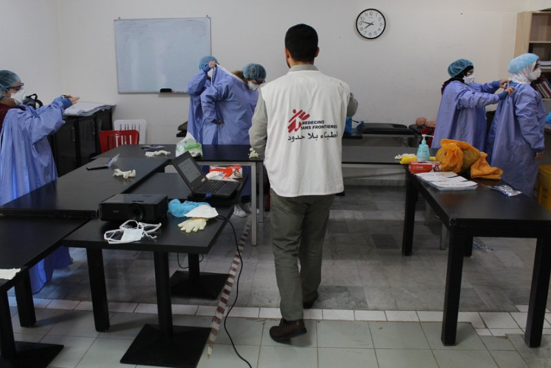 An image preview for COVID-19: MSF scales up activities in Lebanon article.