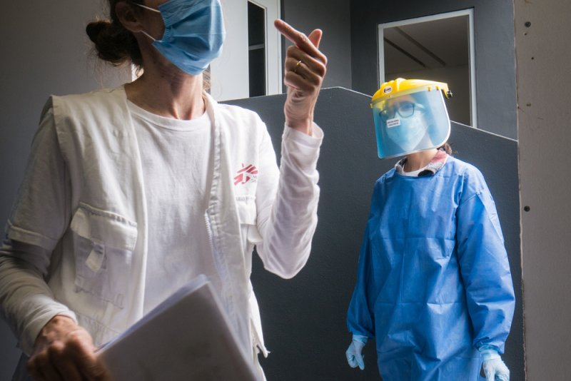 An image preview for COVID-19: MSF provides critically-needed medical care in Tijuana  article.