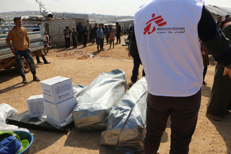 An image preview for Idlib, Syria: MSF continues providing relief items and adapts response to COVID-19 threat article.