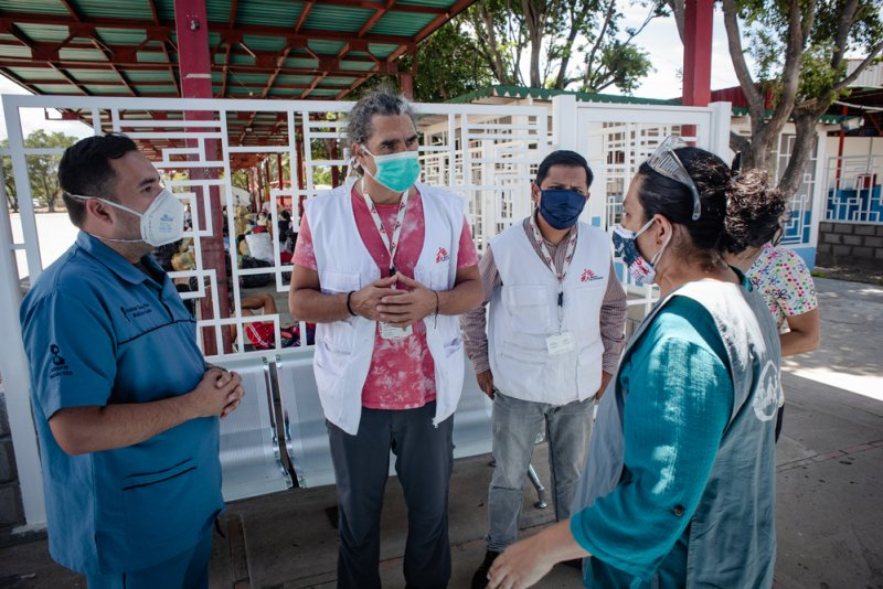 An image preview for Venezuela: MSF teams improve conditions in quarantine centres  article.