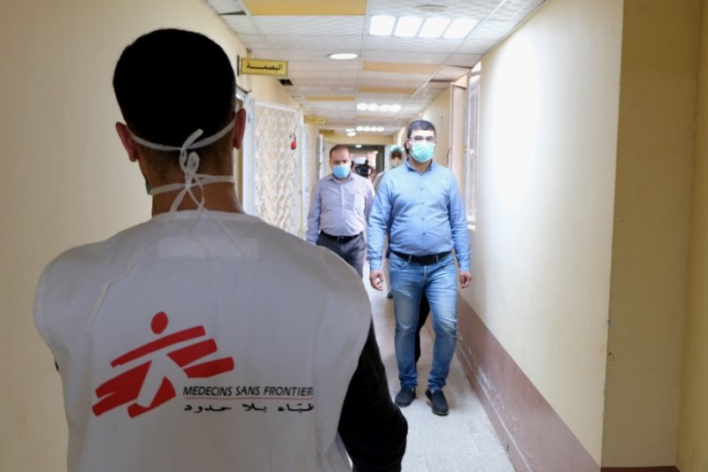 An image preview for Iraq: MSF supports hospitals responding to the COVID-19 outbreak article.