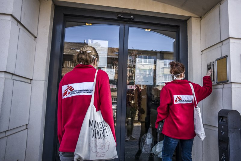 An image preview for COVID-19: MSF launches it's largest ever response in Belgium article.