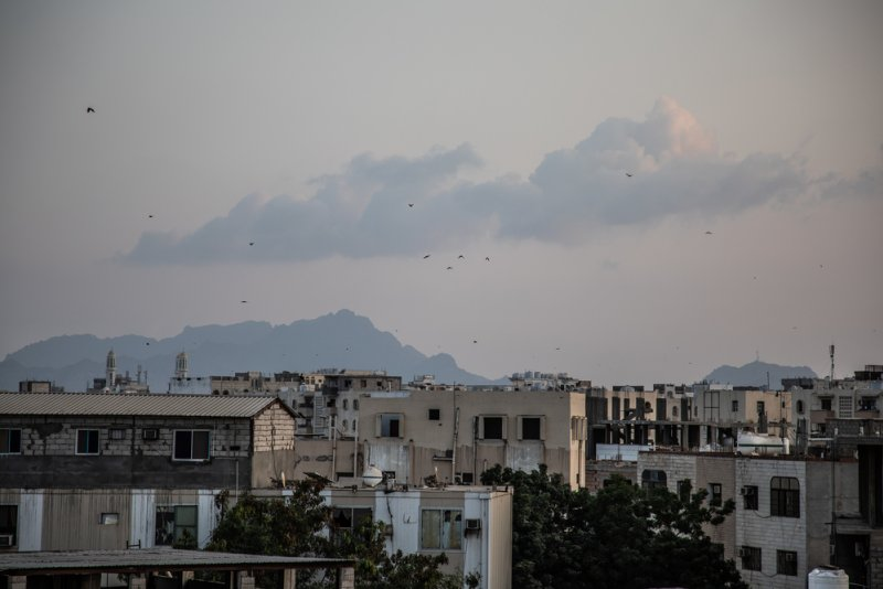 General view of Aden from MSF hospital's rooftop