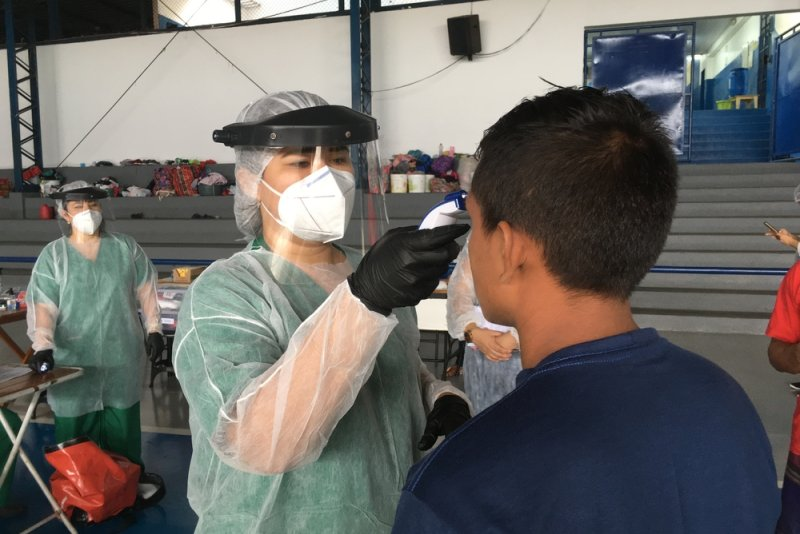 An image preview for COVID-19: MSF responds in Amazonas, Brazil article.