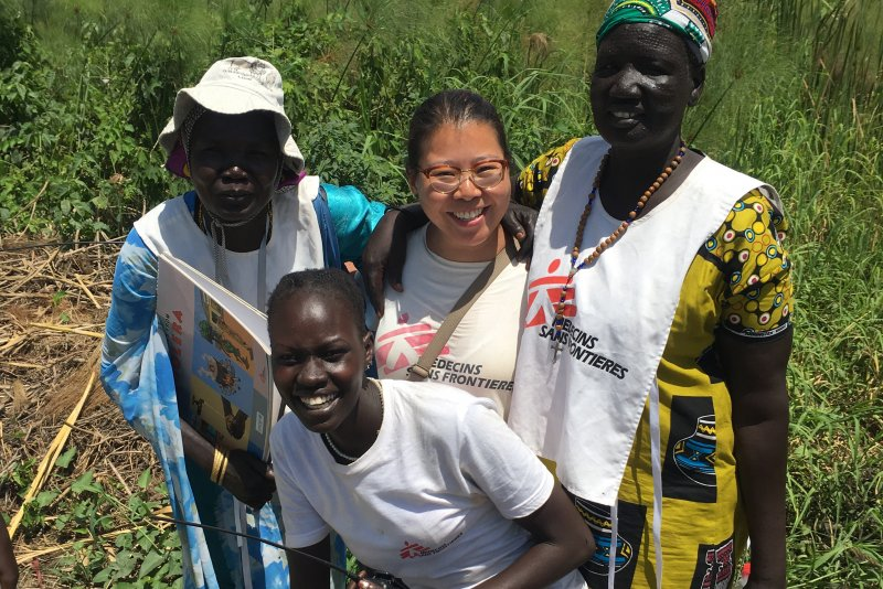 An image preview for Delivering essential care: A Canadian nurse with MSF in South Sudan article.