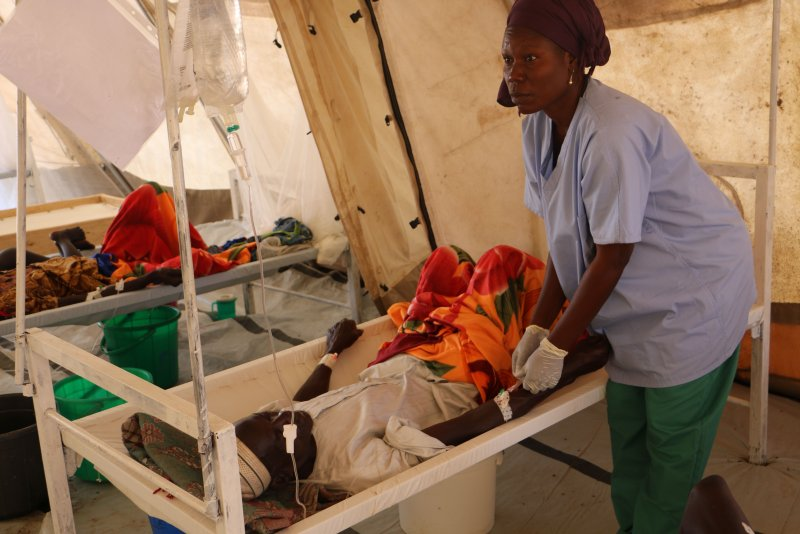 An image preview for Misinformation and lack of resources hamper cholera response in Chad article.