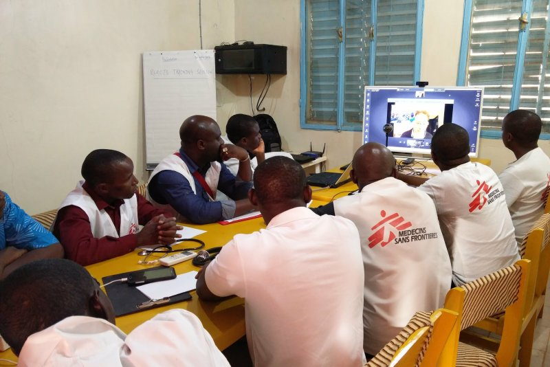 An image preview for 'It's about capacity building': MSF's telemedicine program brings advanced care to places where specialists can't always go article.