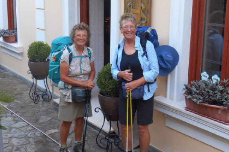 An image preview for Walk Without Borders: Two Vancouver Island friends take on the historic Via Egnatia to raise funds for MSF article.