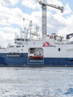 MSF's new chartered ship